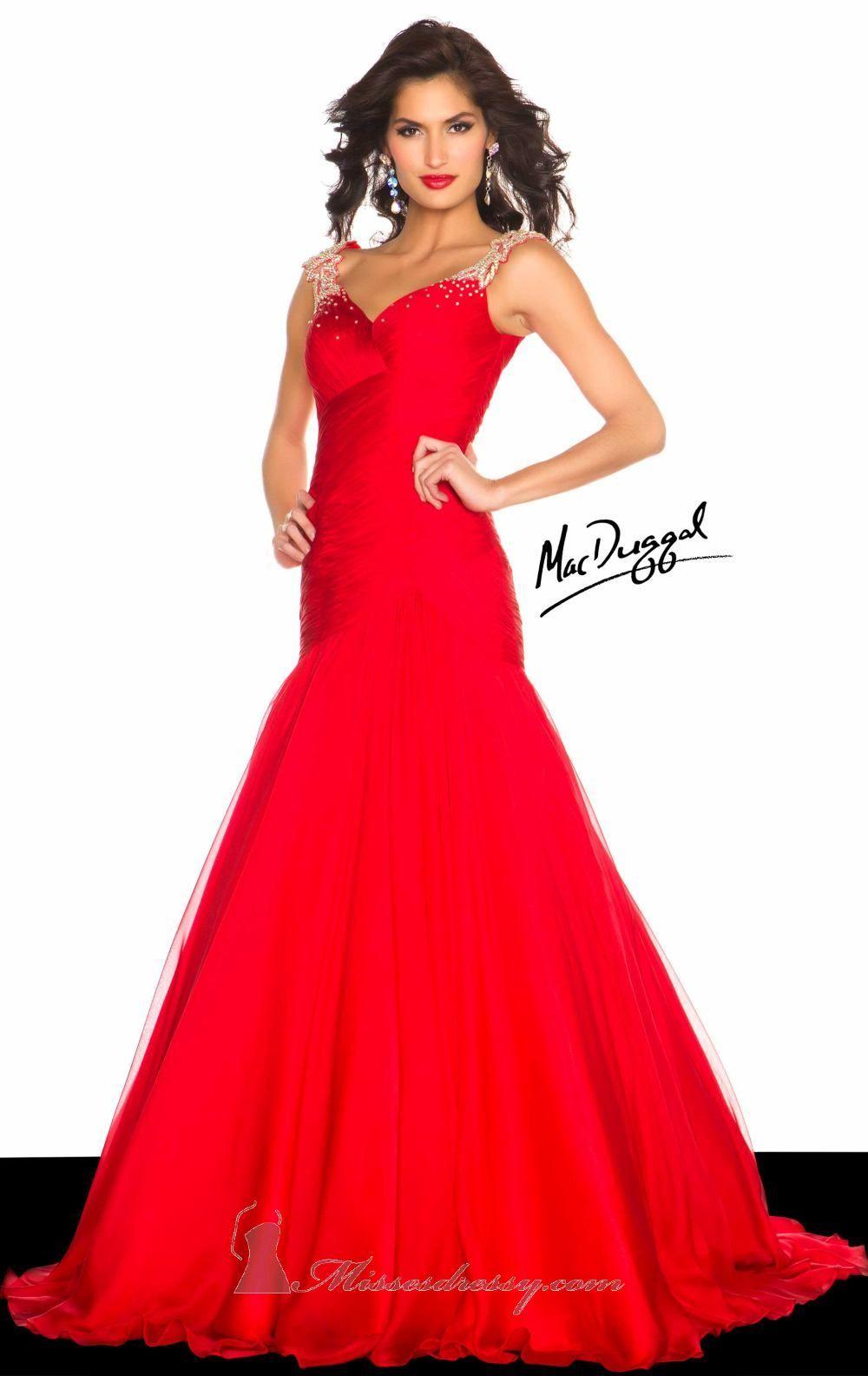 Macduggal off the shoulder mermaid dress r lovefashion
