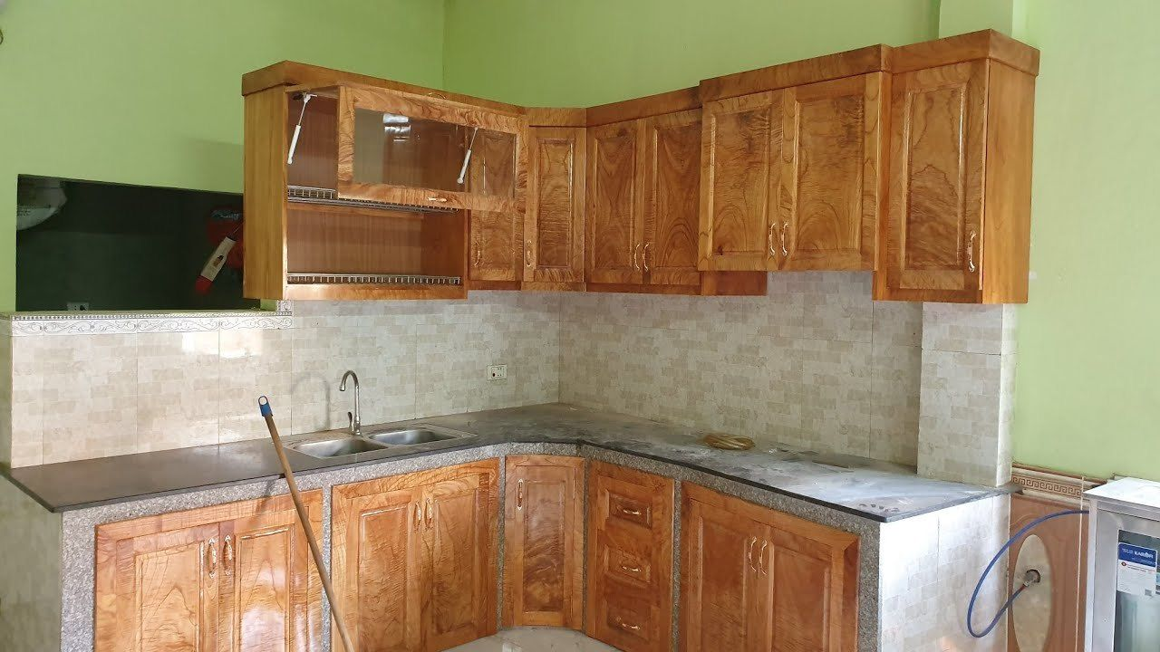 Amazing Woodworking Project How To Build And Install Kitchen Cabinets Carpenter Dong Pow Woodworking Projects Kitchen Cabinets Kitchen Craft Cabinets