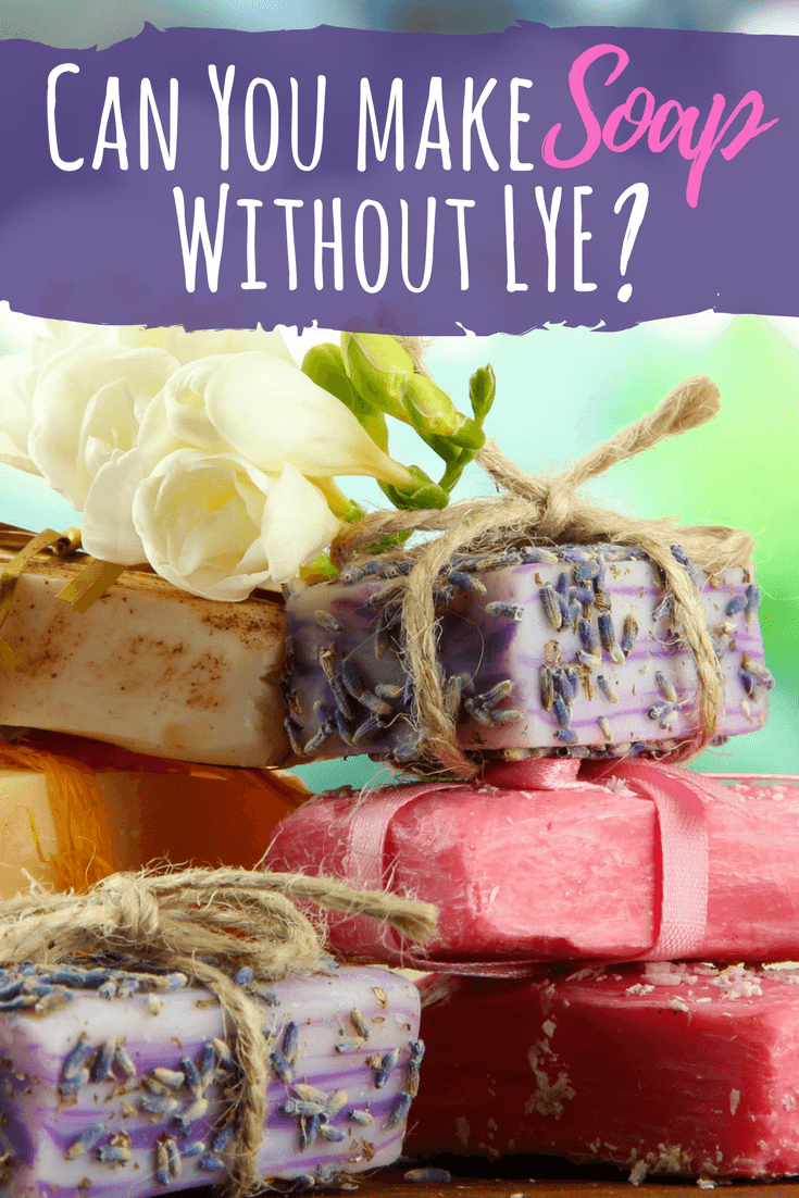 Can You Make Soap Without Lye? Soap making, Homemade