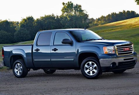 4. GMC Sierra 1500 crew (TOP10 Most Stolen Vehicles in U.S. From 2010 to 2012)
