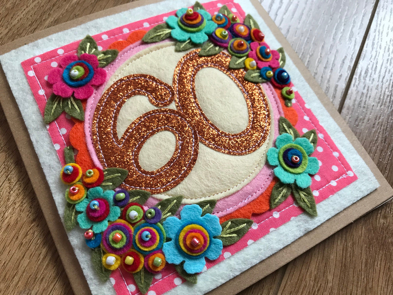 60th Birthday Card 60th Birthday Card Mum Special Friend Etsy 60th Birthday Cards Mom Birthday Crafts Birthday Cards