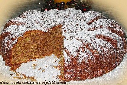 Hildes weihnachtlicher Apfelkuchen von Eisibär | Chefkoch