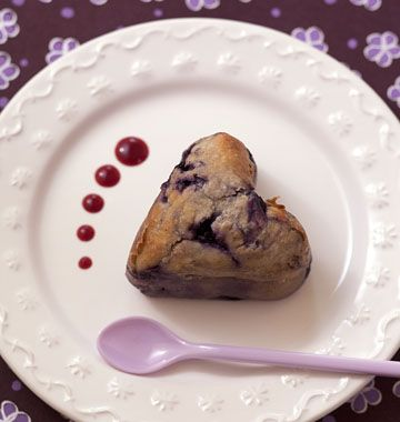 Baba Au Rhum Coeur Aux Myrtilles SaintValentin Recette Cap - Recette cap cuisine
