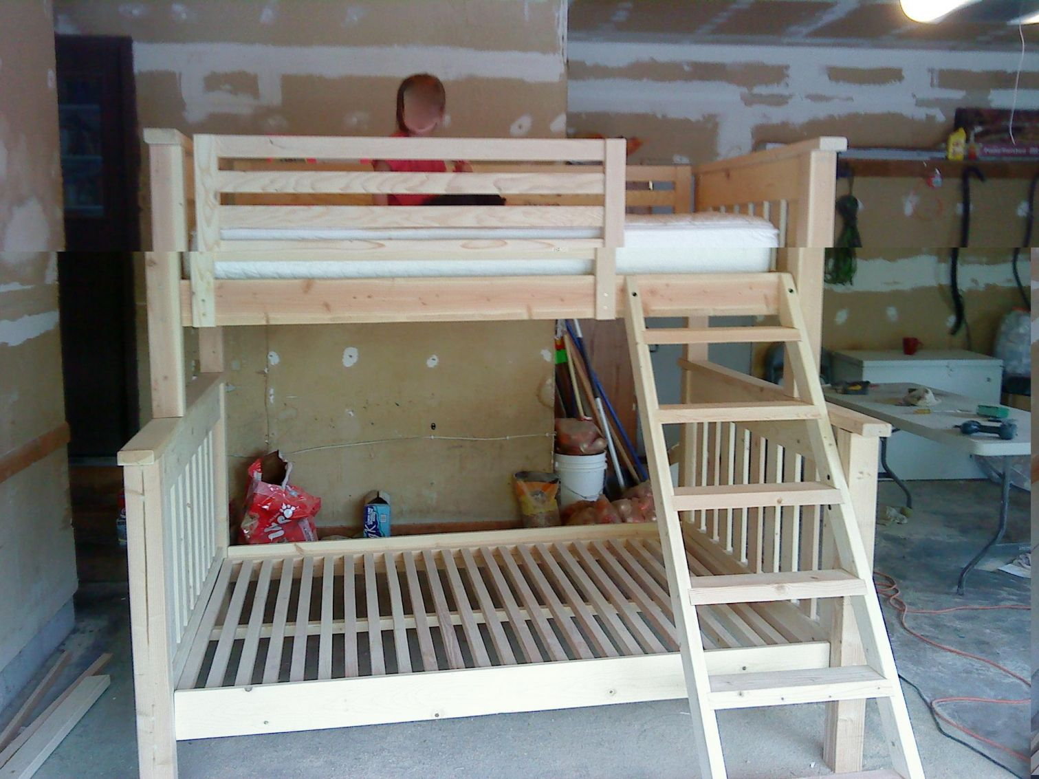 Full Over Queen Bunk Bed Plans Top Rated Interior Paint Check More