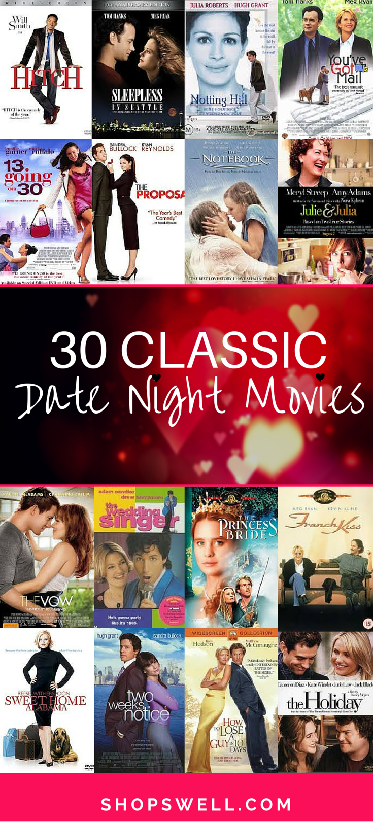 Good movies to see on a date