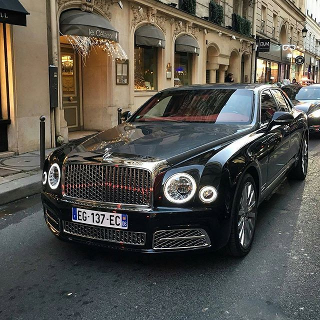Bentley Bentayga Speed Beats Lamborghini Urus: New Mulsanne In Paris Photographer @tim.spot #bentley