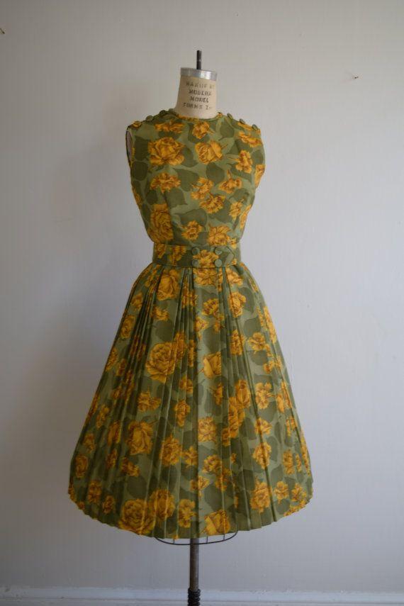 SALE Closing Shop SALE 1950/'s 50/'s dress