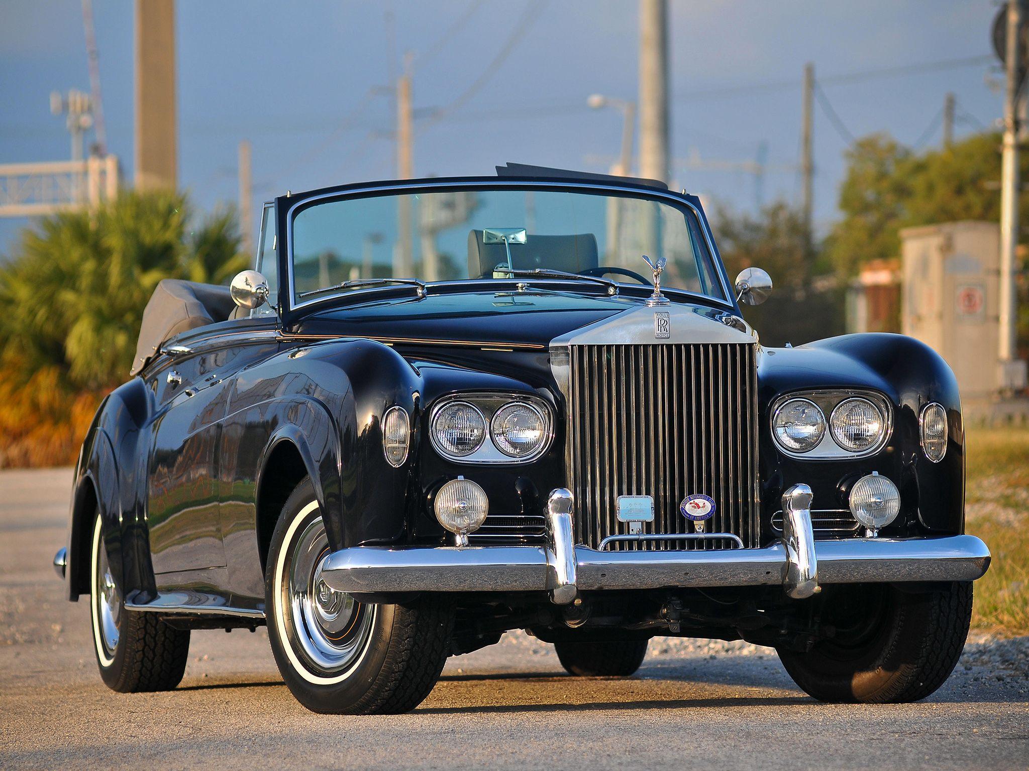 1962–66 Rolls-Royce Silver Cloud Drophead Coupe (III) | Rolls Royce