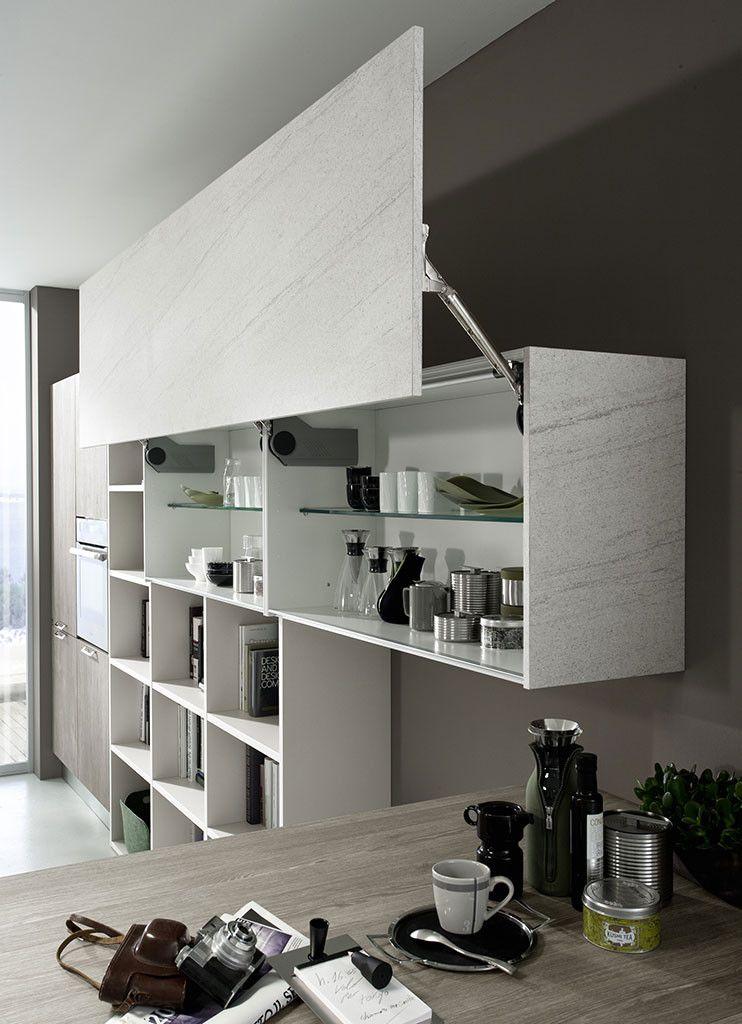 il design, per lo spazio cucina, è cambiato: ora ?transita? dalla ... - Cucina Febal Light La Qualita Accessibile