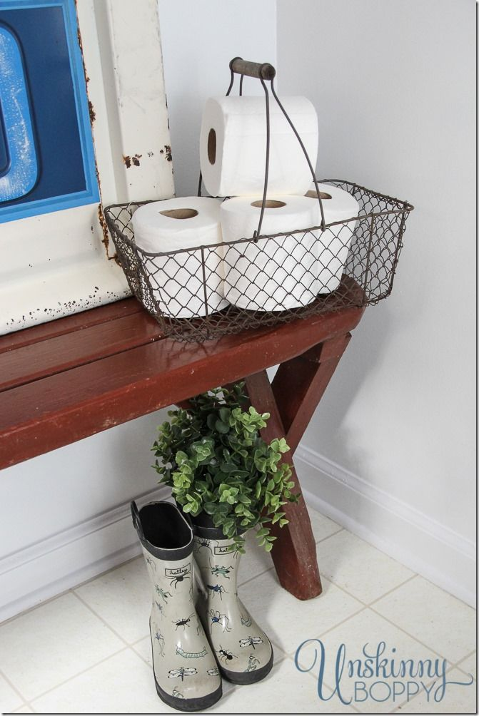 rustic boys bathroom makeover cute rain boots your funky junk a rh pinterest com Boys Bedroom Ideas Rustic Wood Boys Bedroom Ideas Rustic Wood