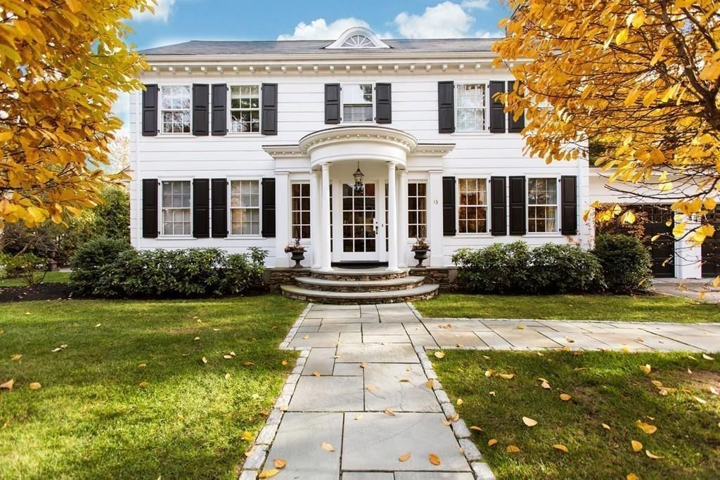 For sale: $1,895,000. Exquisite Center entrance Colonial features a unique balance of timeless chic elegance and tasteful modern updates. The grand front foyer, streaming with natural light, welcomes you into this classic property. Lovely front to back formal living room features hardwood floors, fireplace and French doors to blue stone patio. Elegant dining room offers picture windows and detailed moldings. Renovated Gourmet Chef's kitchen includes custom cabinets, double ovens, high end...