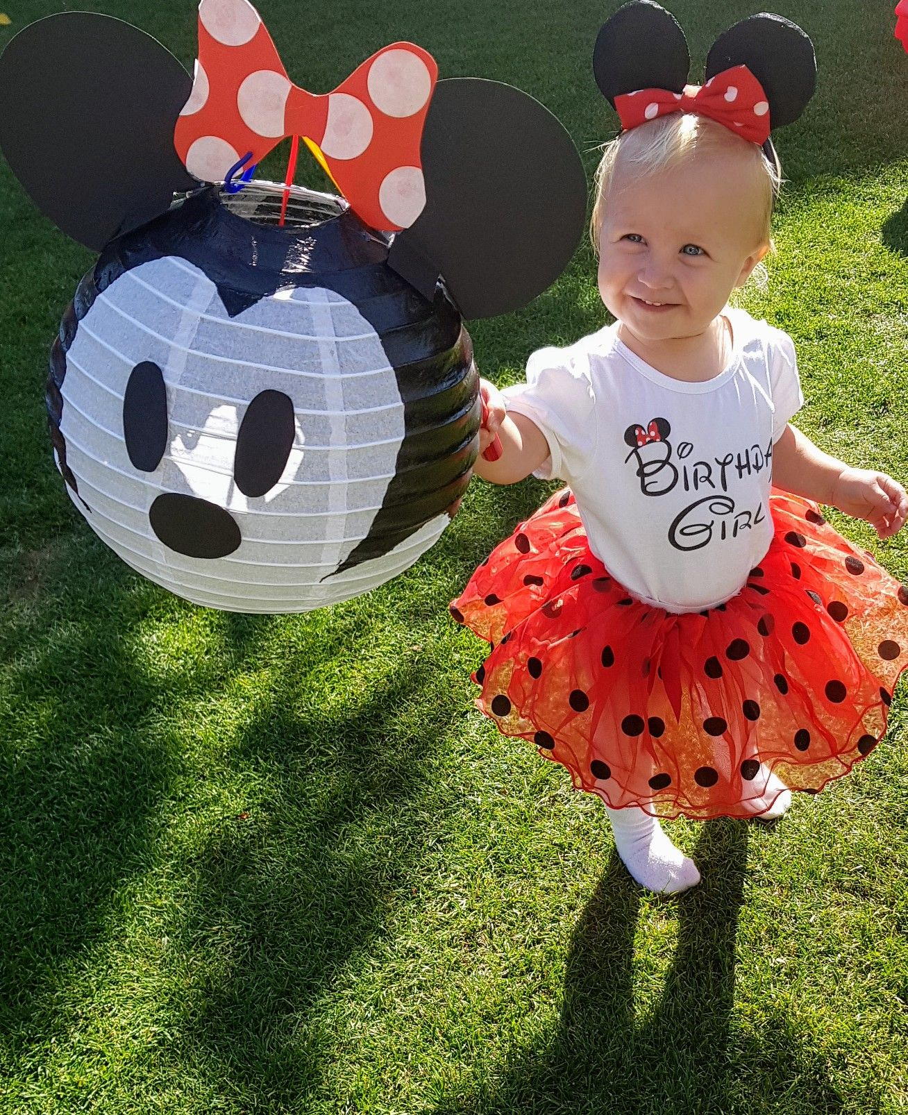 DIY Mickey- und Minnie Mouse Laterne #minniemouse