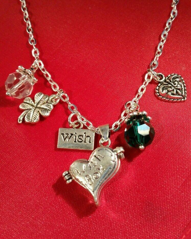 Amazing Wish Box Necklace handmade thoughtful gift idea