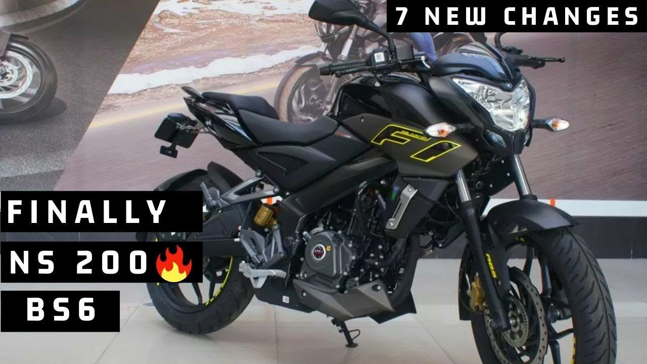 Finally Bajaj Pulsar Ns 200 Fi Bs6 Launch In India 6 New