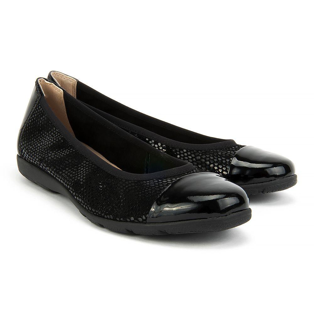 Baleriny Caprice 9 22152 28 020 Black Rept Com Baleriny Buty Damskie Filippo Pl Black Shoes Flats