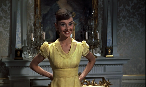 "Audrey Hepburn in ""War and Peace"""