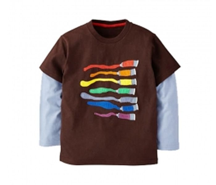 Colorblast Double Sleeve T Shirt Manufacturers In Usa