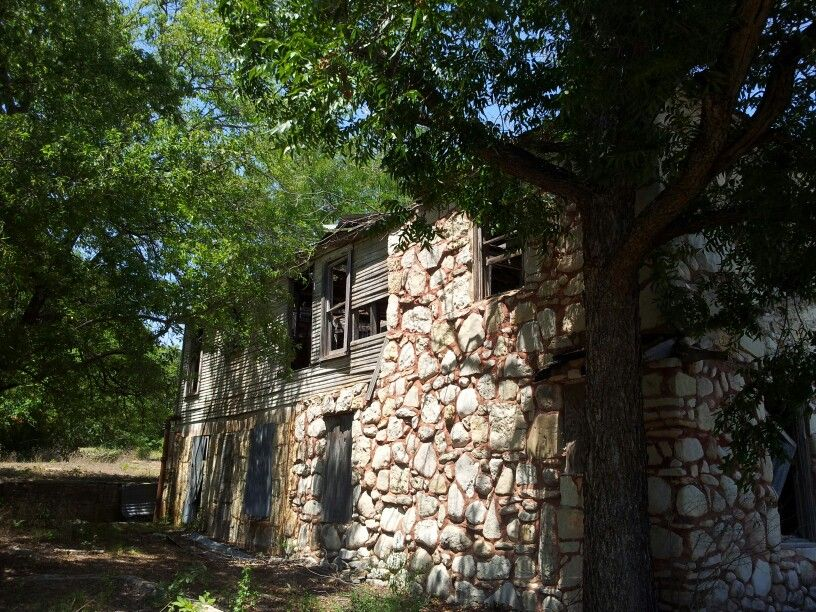 Some burnt up house for sale somewhere near Granbury... we got lost