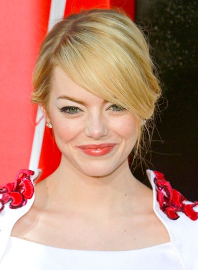 Updo Hairstyles Blonde Updo Hair Styles Emma Stone Updo