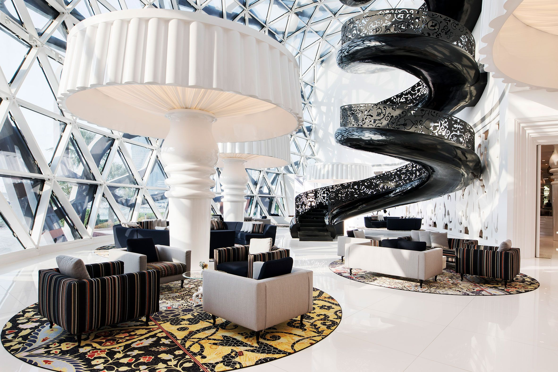 Mondrian Doha Hotel By South West Architecture With Interiors By