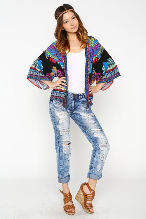 Aztec Kimono Cardigan #Wholesalefashionyetts #wholesale #kimono ...