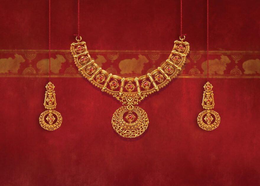 Tanishq Shubham Jewellery Collection Online | All that