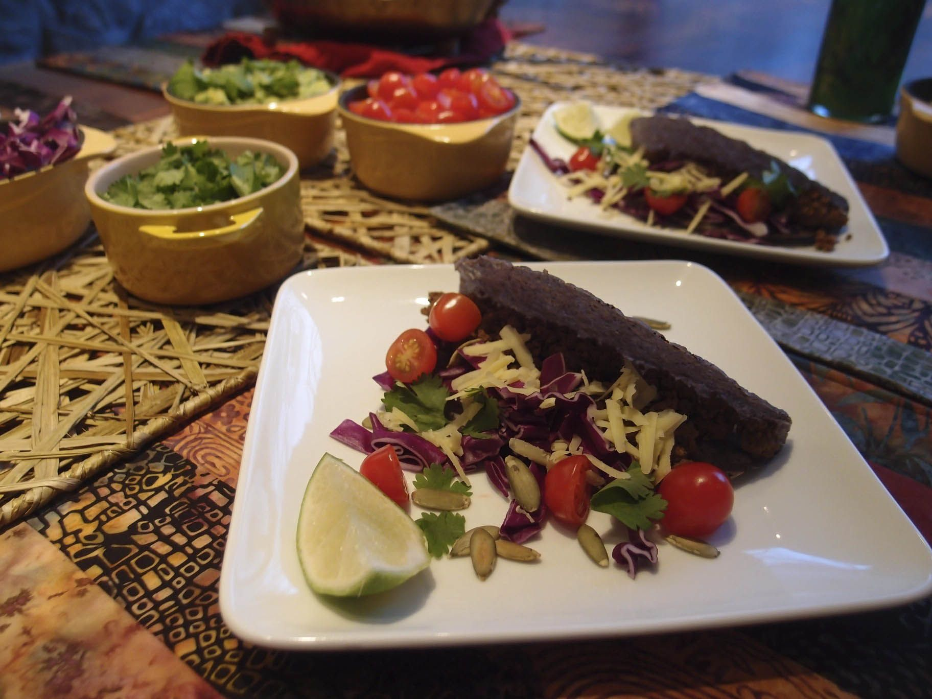 Crispy Bison Tacos with Avocado and Purple Cabbage - Updates -