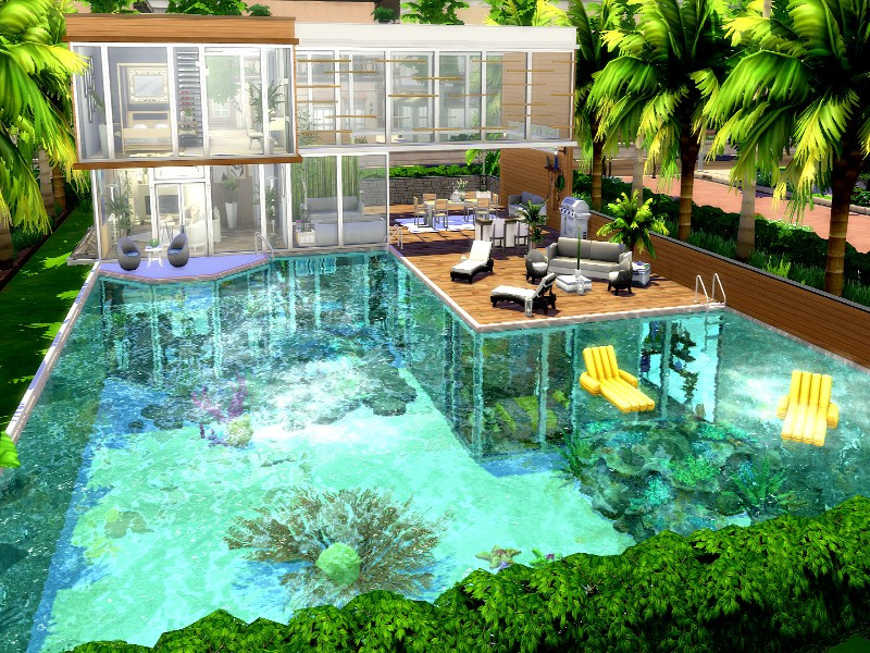 GenkaiHaretsu s Pool House No CC
