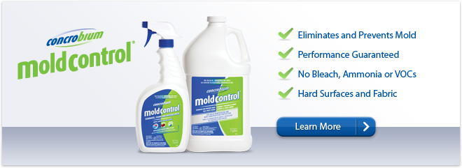 Eliminate Clean Prevent Mold With Concrobium Removal Products