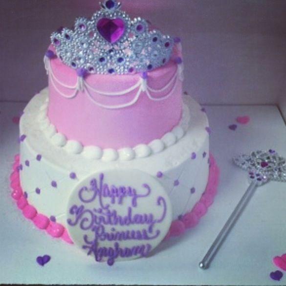 Princess ice cream cake Cakes by me Pinterest Cream cake and Cake