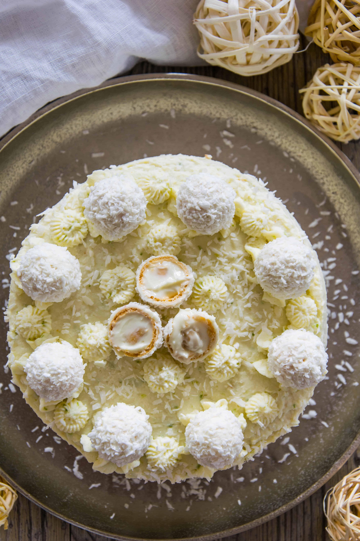 Kokos Limettentorte Oats And Crumbs Rezept In 2020 Limettentorte Backen Ohne Zucker Dessert Ideen