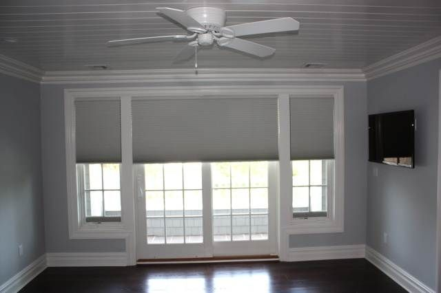 Is Built In Patio Door Blinds A Good Choice | Drapery Room Ideas