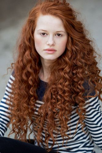 Picture Of Madelaine Petsch Natural Red Hair Long Red Hair Curly Hair Styles