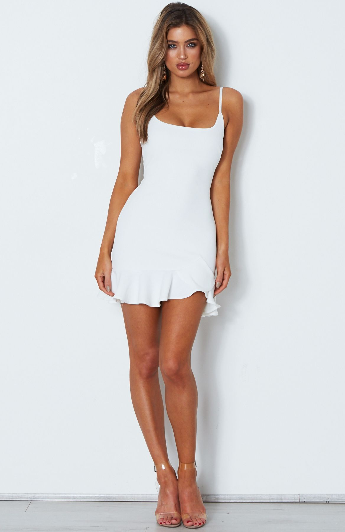13492452be Luella Mini Dress White