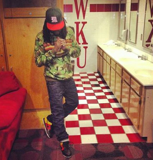 Wale wearing Nike Dunk SB Low « Raygun »