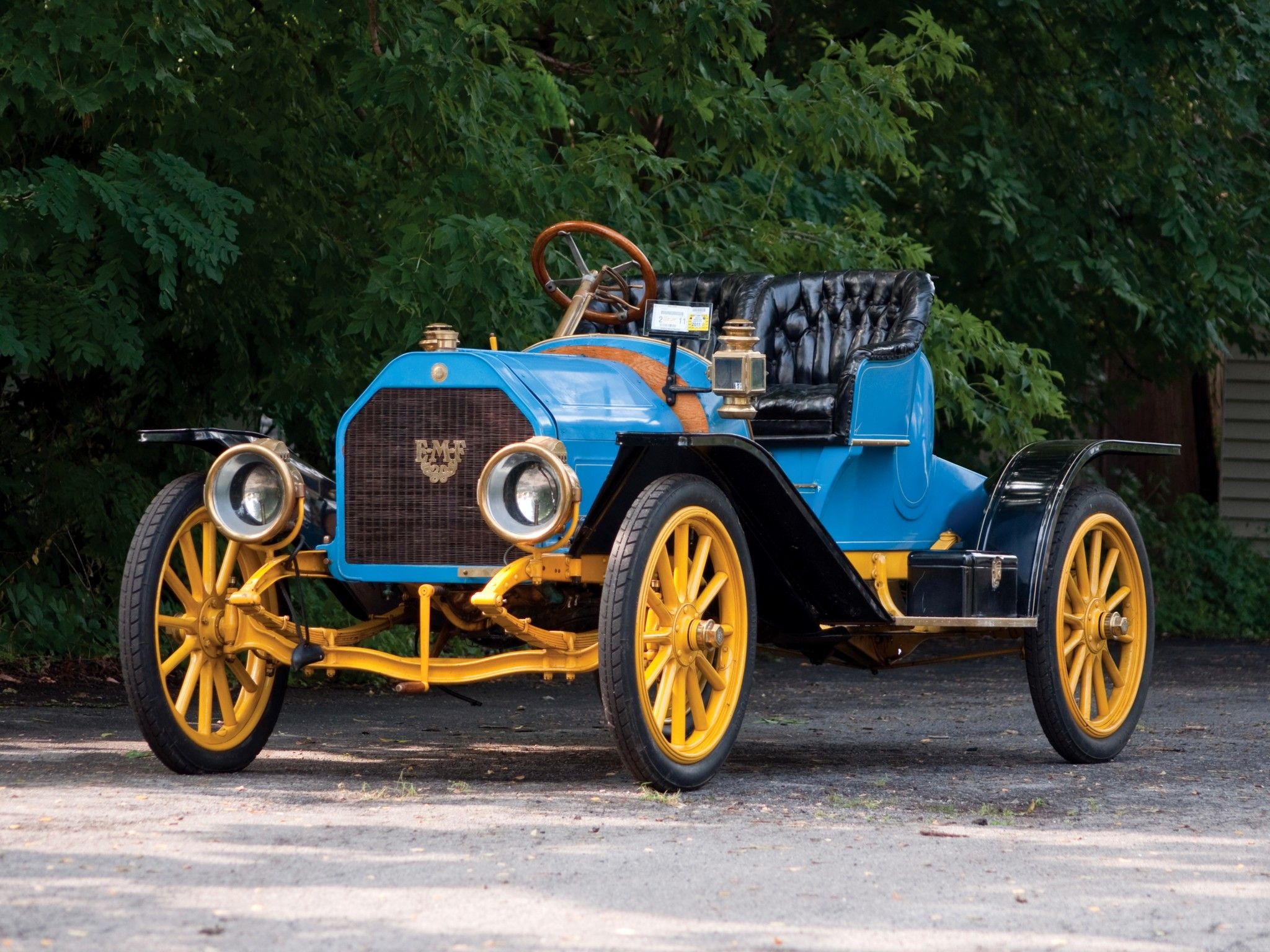 1909 EMF Model-30 Roadster | 1900 to 1910 early CARZ | Pinterest ...