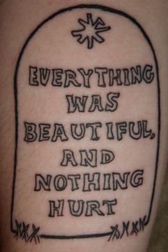 Slaughterhouse Five By Kurt Vonnegut Literary Art Tattoos