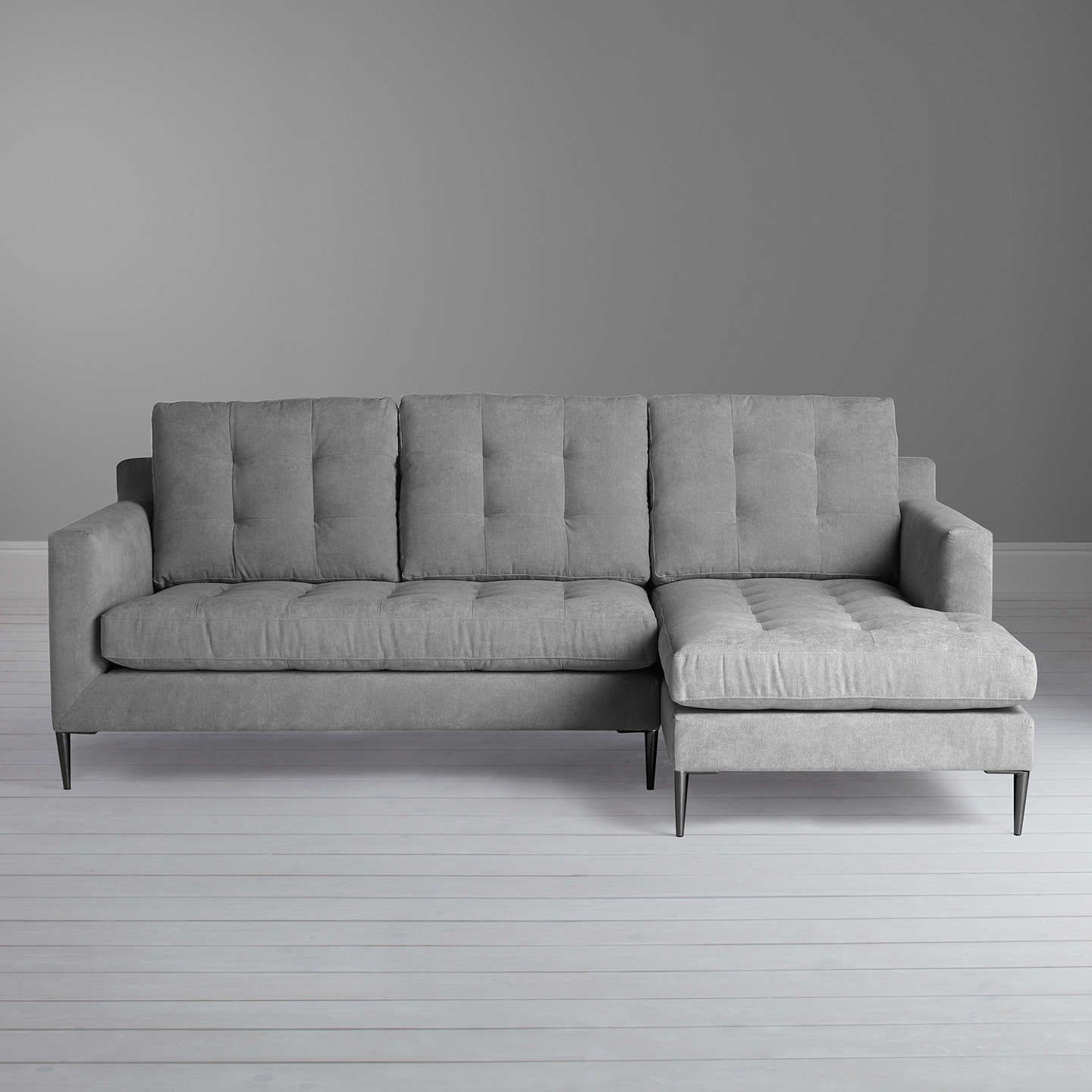 Marl Fabric Smooth Fabric Medium Sofa Imperial Smooth