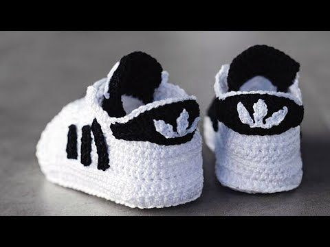 Best Ideas About Crochet Baby Shoes On Pinterest - YouTube | Crochet ...
