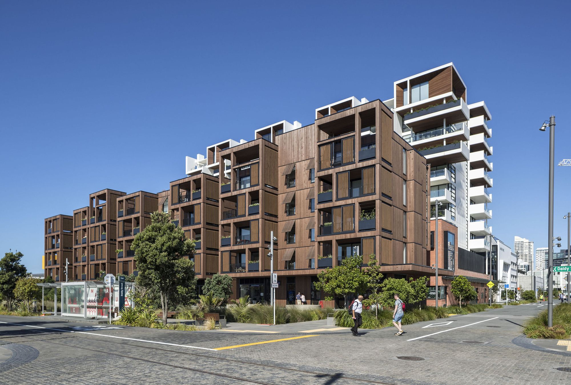 Wynyard Central East 2 Apartments Architectus New Zealand Architecture Architecture Architecture Project
