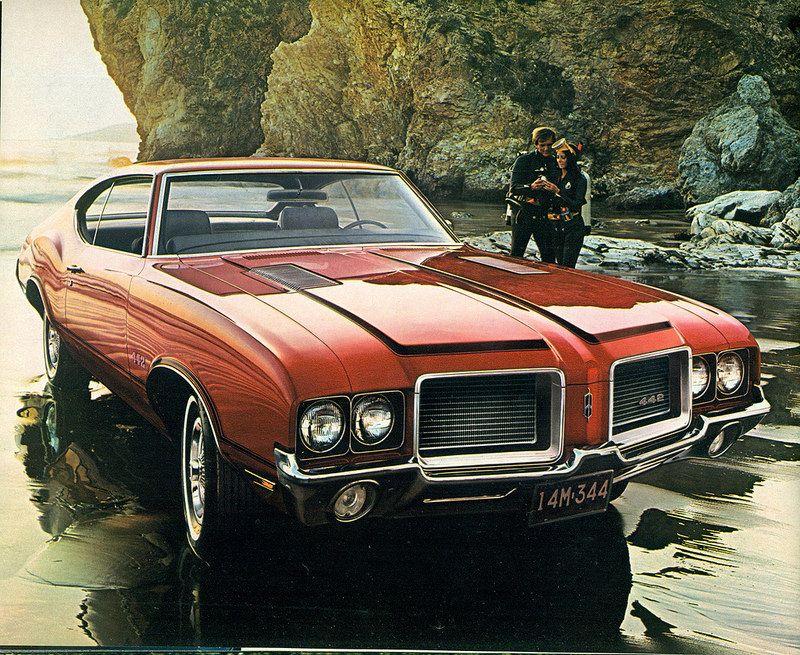 1972 Oldsmobile Cutlass 442 Hardtop Oldsmobile 442 Oldsmobile Muscle Cars