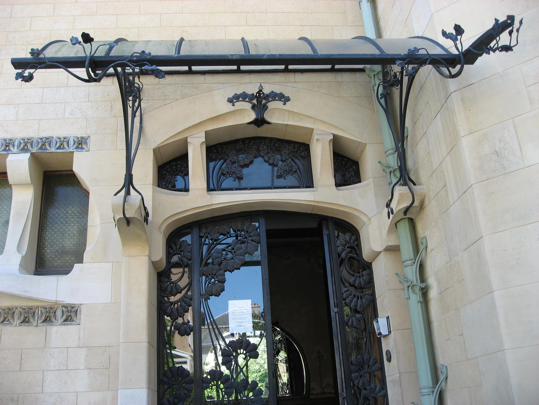 Villa majorelle jika nancy 1901 1902 la 1 re - Maison de l art nouveau ...