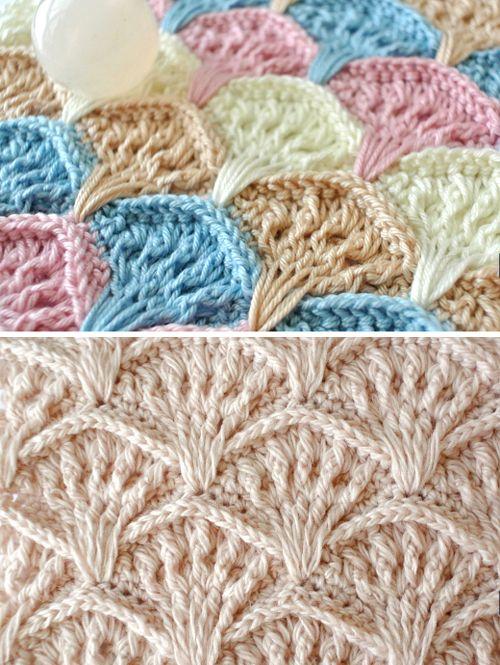 Crochet Shell Textured Stitch - Free Pattern (Beautiful Skills ...