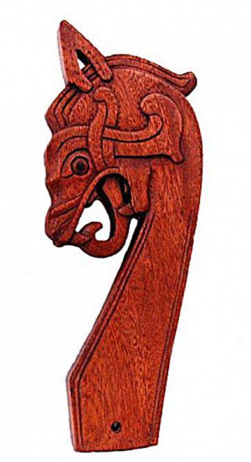 Wood Carving Dragon For Tent Wood Carving Art Viking Art Viking Tent