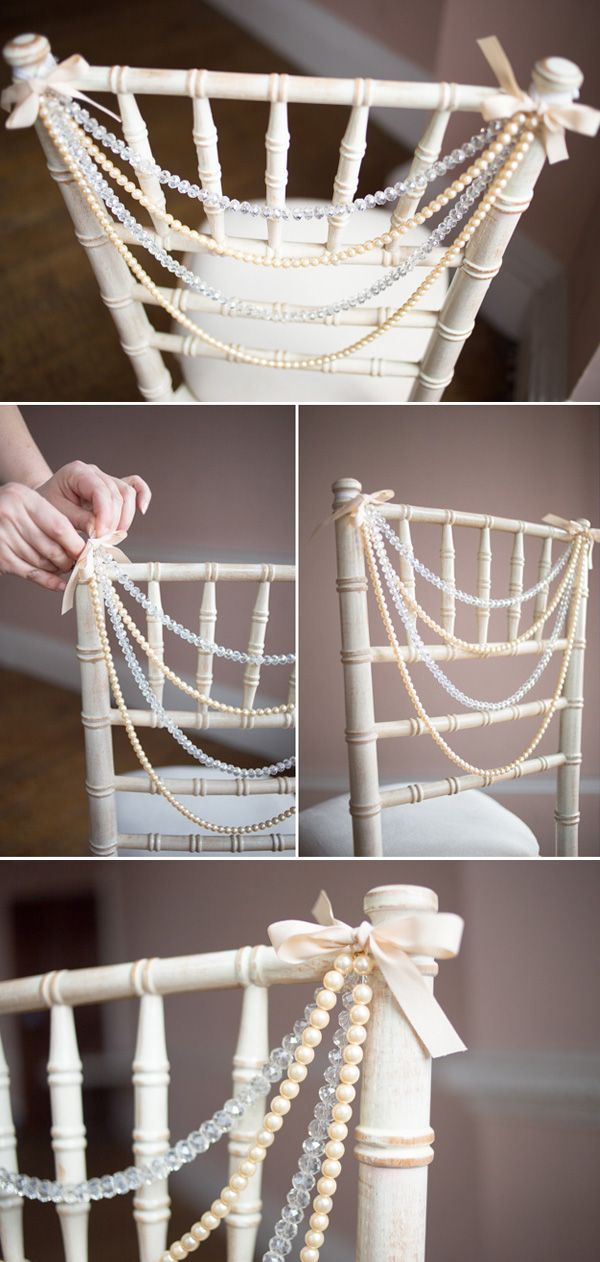 8 Awesome And Easy Ways To Decorate Wedding Chairs Wedding Ideas