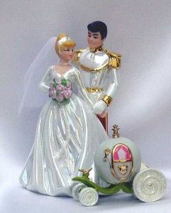 cinderella wedding cake topper fairytale princess wedding theme