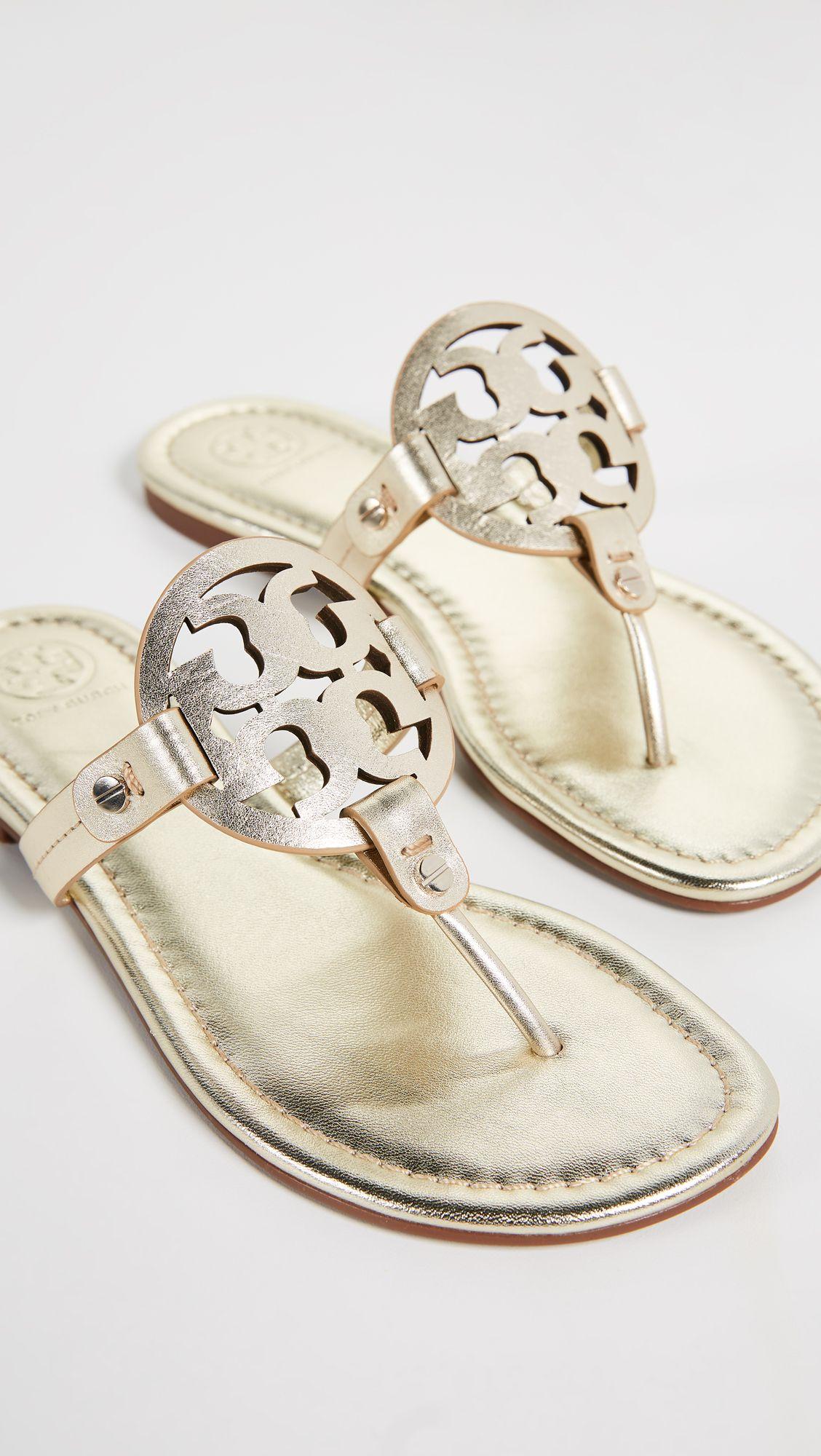 b2af0adc514 Tory Burch Miller Thong Sandals
