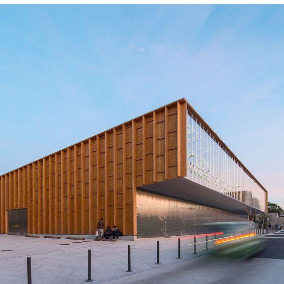 Charming Croixmariebourdon Architectures : Halle De Marché De Cachan