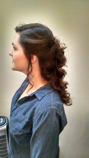 Fairytale wedding hair