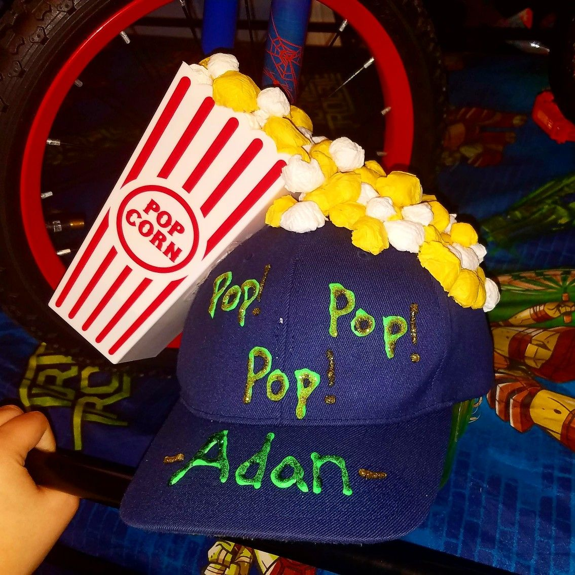 Silly Hat Day Popcorn Hat For Dr Seuss Week Silly Hat Day Silly Hat Hat Day
